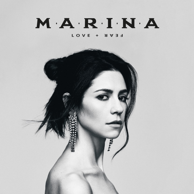 Marina LOVE+FEAR album art
