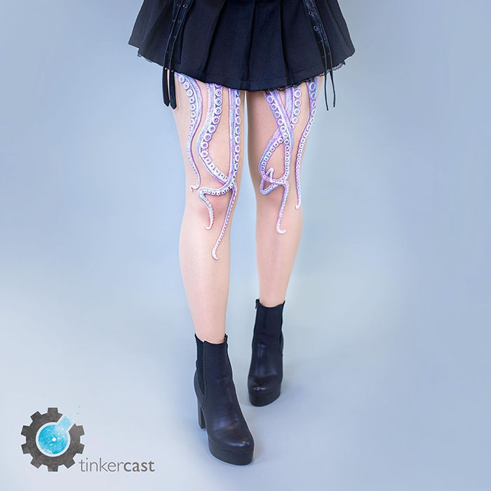 OMG, it's called FASHUN, look it up! The TENTACLE TIGHTS Edition