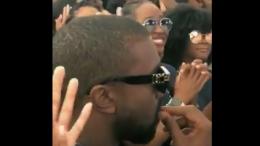 Kanye West eats earwax
