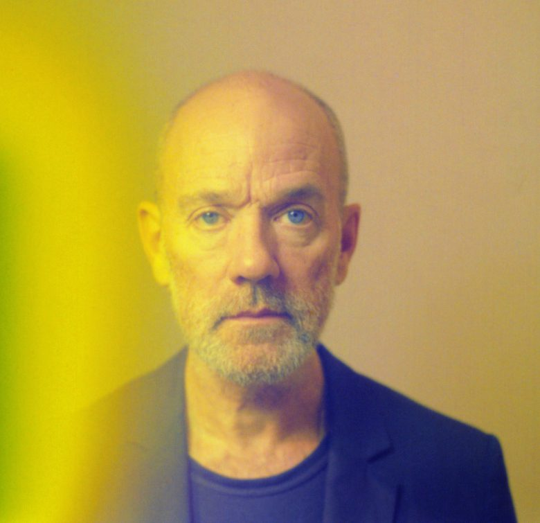 Michael Stipe Polaroid portrait