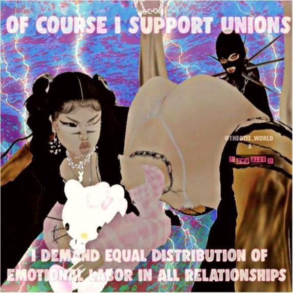 theotis_world meme emotional labor union